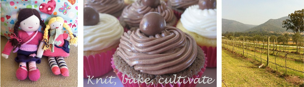 Knit, bake, cultivate