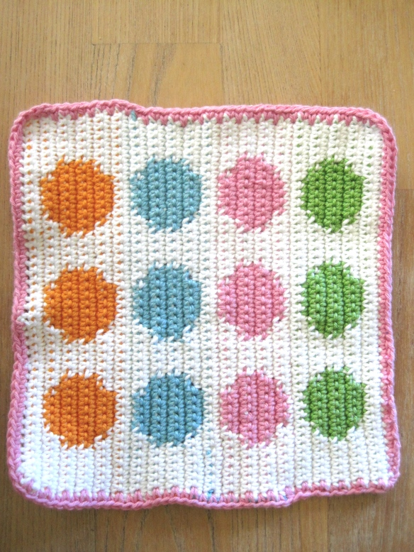 tapestry crochet spots