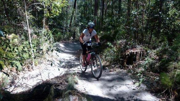 Mountin biking